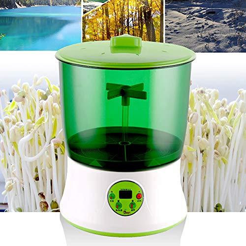 SOOTOP Kit di germinazione dei Semi, Doppio Strato LCD Macchina per germinazione a Doppio Strato 3 modalità Funzione di Memoria del Dispositivo di germinazione Automatica