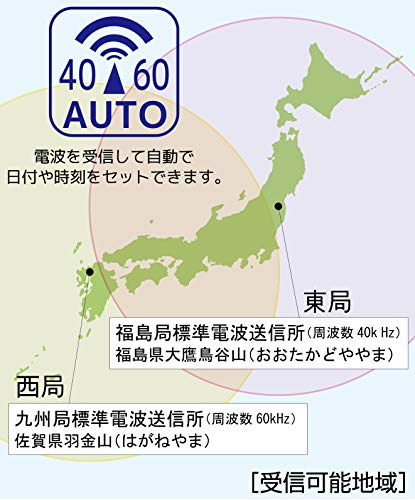 ADESSO(アデッソ)『カラーカレンダー電波時計(NA-929)』