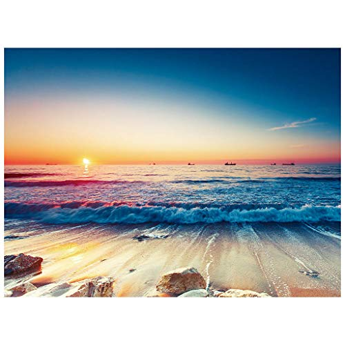 Wandteppich Gardinen Sofa Vorhang Magische Handtuch für Strand Wandbehang Dekoration Schöne Gemälde Landschaftskunst (Mehrfarbig 2,130x150cm)