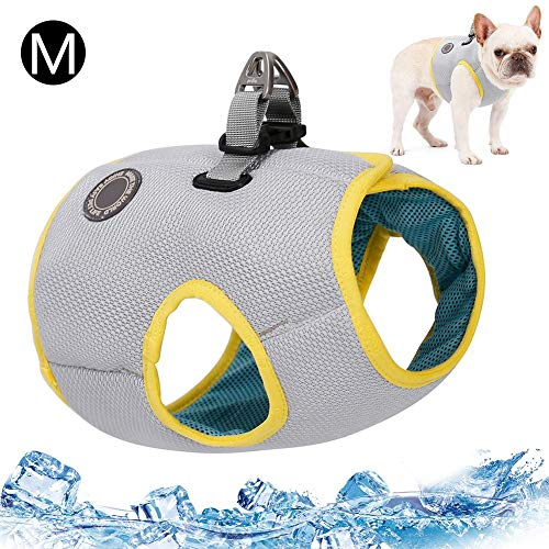N/C Cool Vest, Dog Cooling Vest, Prestige Harness Outdoor Puppy Cooler Jacket Safety Pet Hunting Coat, Best for Small Medium Large Dogs,Multiple Sizes