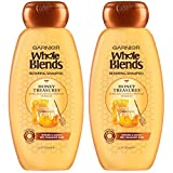 Garnier Whole Blends Honey Treasures Repairing Shampoo for Dry Damaged...