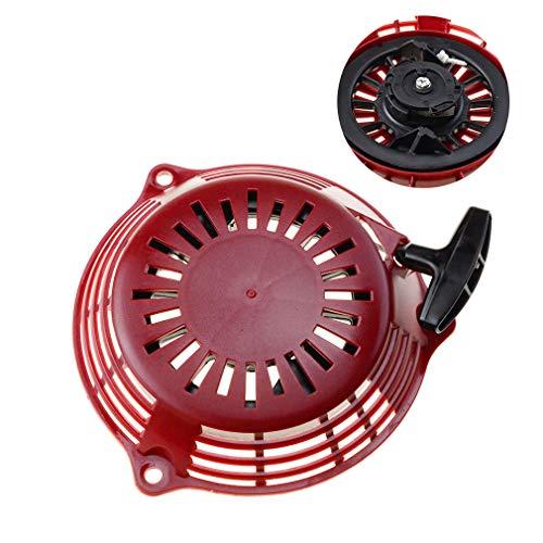 GOOFIT Tirador Minimoto Aluminio Arranque Carburador 1 Pieza reemplazo para GCV160 Motores Rojo