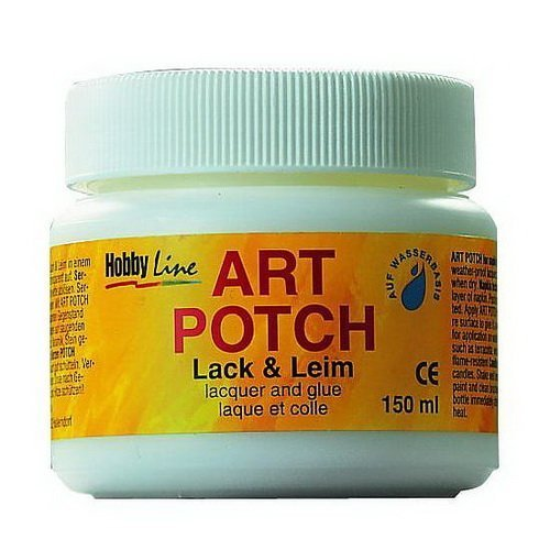 ART POTCH Servietten Technik (Lack + Leim /150 ml)