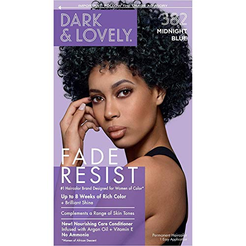 Dark And Lovely Hair Color Kit Midnight Blue