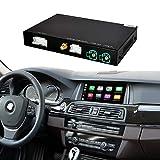 Road Top Retrofit Kit Decoder with Wireless CarPlay & Android Auto Mirror Link Navigation for BMW 5 7 Series NBT System F10 F11 F07 GT F01 F02 F03 F04 2013-2016 Year