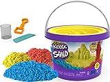 Kinetic Sand Cubo 2,72 kg Colores Herramientas para un Juego Creativo sin Fin – Arena mágica para modelar para niños a Partir de 3 años, Multicolor (Spin Master 6061096)