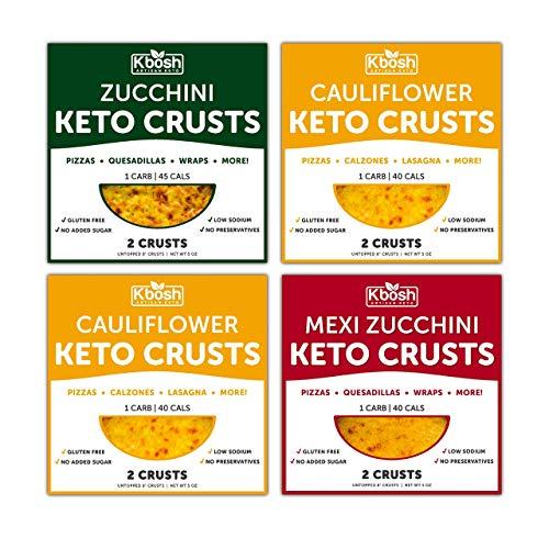 KBosh Keto Pizza Crusts Variety Pack