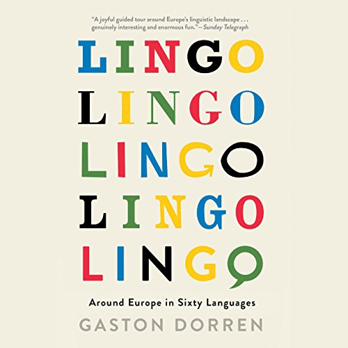Lingo audiobook cover art