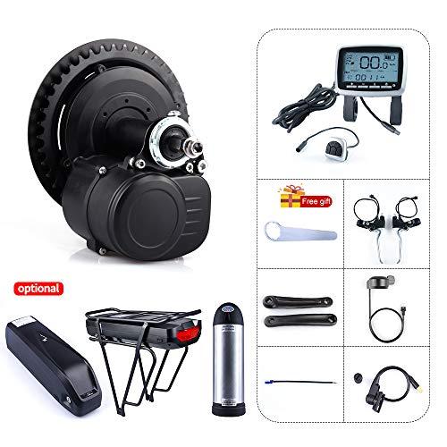 Tongsheng TSDZ2 36V 250W 350W 48V 500W Coppia Sensored DIY Kit Motore di avviamento a manovella eBike Mid Motor Bike Kit di conversione Motore Centrale