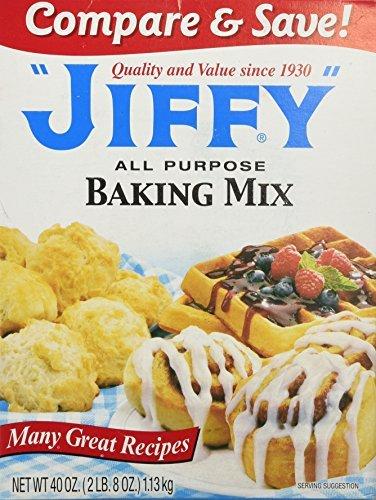 Jiffy ALL PURPOSE Baking Mix 40oz (3 Pack)
