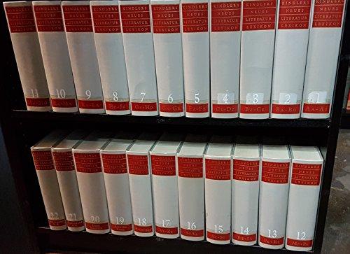 Kindlers Neues Literatur Lexikon [Literaturlexikon], Bände 1 - 22 (Vollständige Leinenausgabe).