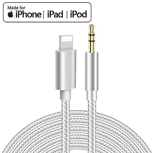 Cable Auxiliar para iPhone Cable Auxiliar para Auto a Jack A