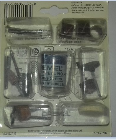 DREMEL 627 - Juego 50 piezas multiusos - Pack - General Purpose Big Set: Amazon.es: Bricolaje y herramientas