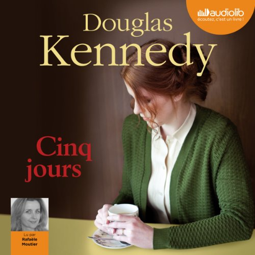 Cinq jours audiobook cover art