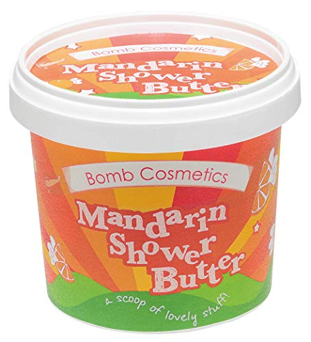 Bomb Cosmetics Mandarin and Orange Cleansing Shower Butter