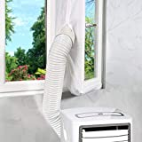 400CM Universal Window Seal for Portable Air Conditioner and Tumble Dryer, Compatible with All Mobile Air Conditioning Unit, Easy to Install, No Need for Drilling Holes