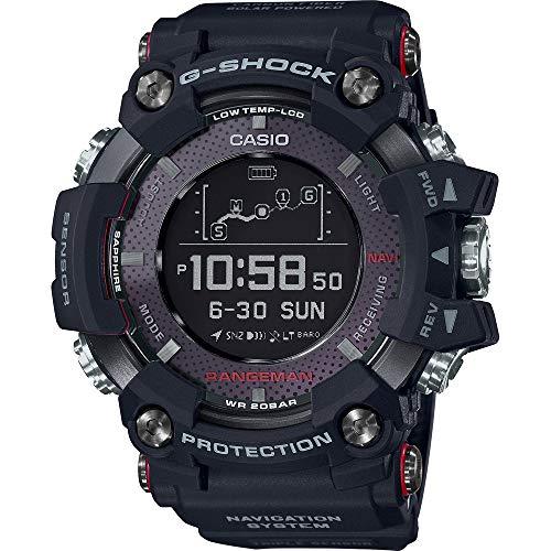 CASIO Herren Digital Uhr mit Harz Armband GPR-B1000-1ER