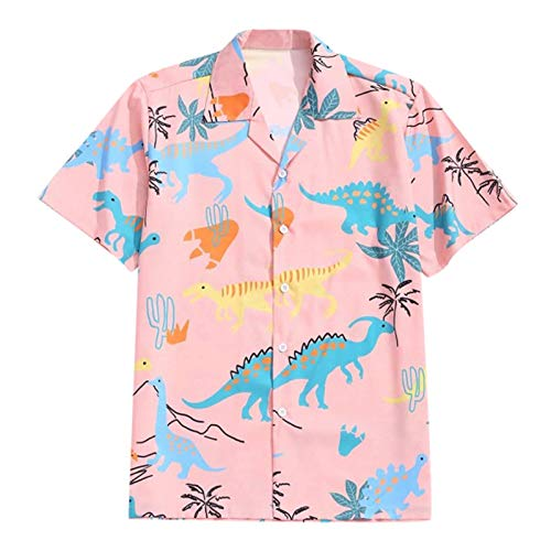 Nuevo 2021 Camisas Hombre Verano Hawaii Vacaciones Manga corta Impresión Moda Casual T-shirt Blusas camisas Camiseta originales Playa hombre suave camisas básica camiseta Tops