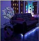 Creative and Cool Infinite Dodecahedron Color Light Night Light, Infinity Dodecahedron, Decoración De Muebles Lámpara De Mesa Atmósfera Party Lámpara, Espacio Espiral Led Luz Ajustable Color Luz.