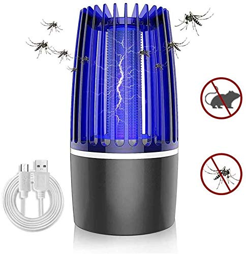 XXCC Lampe Anti-Moustique USB Lampe électrique Anti-Moustique Électrique Choc Insect Killer Safe pour Les bébés Femmes Enceintes