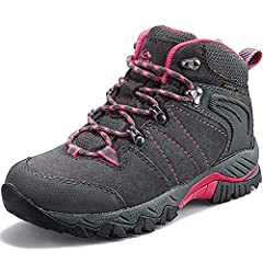 Ventilation & Waterproofing: Suede leather and waterproof nanofiber membrane for excellent water resistance and air permeability; the breathable upper and insole further increases breathability Superb Comfort: Padded collar and tongue for a supportiv...