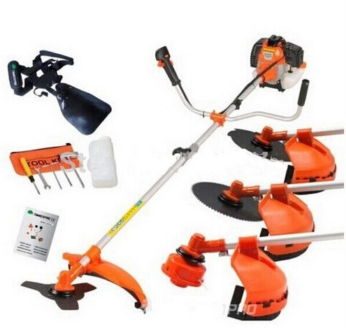 GOWE Multi Powerful 52cc Gasoline Brush Cutter 4 in 1 Grass Trimmer strimmer Cutter Garden Manual Work Tool
