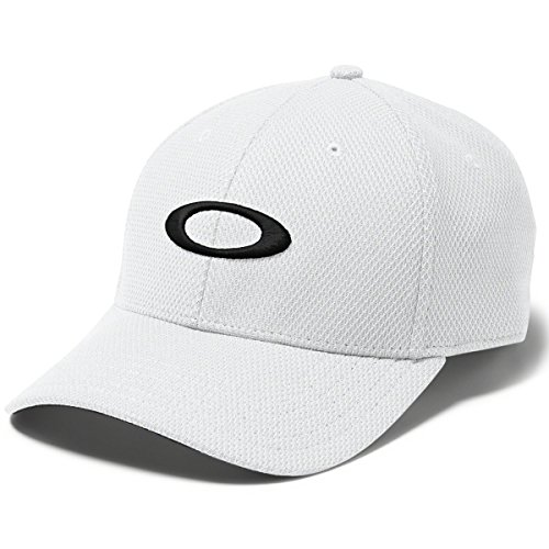 Oakley Men's Golf Ellipse Hat, White, One Size