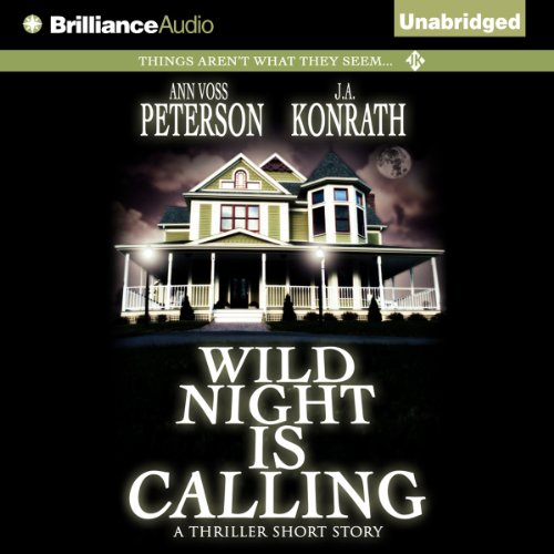 Wild Night Is Calling audiobook cover art