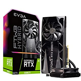 EVGA GeForce RTX 2080 Ti FTW3 Ultra Hybrid Gaming, 11GB GDDR6, RGB LED & iCX2 Technology - 9 Thermal Sensors Graphics Card 11G-P4-2484-KR (B07N8T98KX) | Amazon price tracker / tracking, Amazon price history charts, Amazon price watches, Amazon price drop alerts