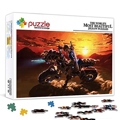 Puzzle da 1000 pezzi per adulti The Legend of Zelda : Breath of the Wild Puzzle da 1000 pezzi Giochi educativi domestici Giocattoli fai-da-te