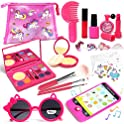 Lehoo Castle Little Girls 26-Pieces Makeup Set with Cosmetic Bag