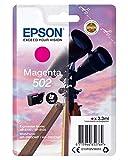 Epson Prismáticos Originales 502 de Tinta XP-5100 XP-5105 WF-2860DWF WF-2865DWF, compatibles con Amazon Dash Replenishment (Magenta), estándar, Embalaje Normal