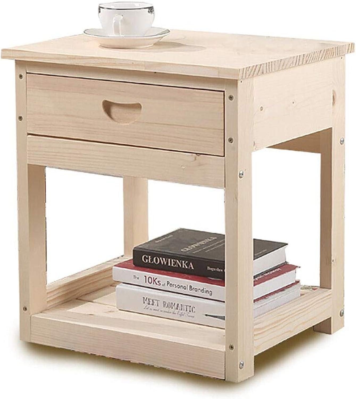 Solid Wood Furniture, Bedside Table Storage Locker Sofa Side Table ...