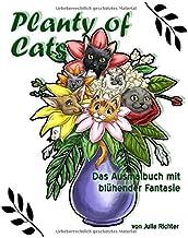 Planty of Cats: Das Ausmalbuch mit blühender Fantasie (German Edition)