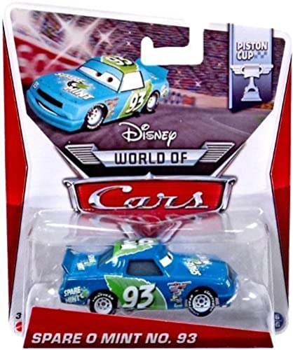Disney Pixar Cars World of Cars Series Spare O Mint No. 93 1 55 Scale Piston Cup Edition by Disney