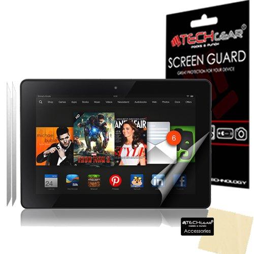 TECHGEAR (2 Stück Matte Displayschutzfolien für Fire HDX 2013 (7,0 Zoll) - Matte Blendschutz Schutzfolie für Amazon Fire HDX 7 2013 (3. Gen.)