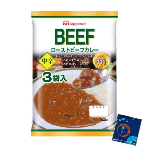 日本ハム レトルト ローストビーフカレー 12食 小袋鰹ふりかけ1袋 セット