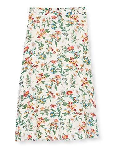 Tommy Jeans Damen Tjw Summer Midi Skirt Rock, Pink, XS