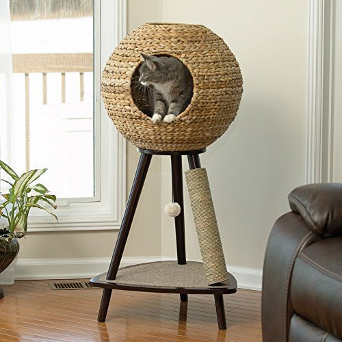 Sauder Natural Sphere Cat Tower by Sauder Woodworking (StudioRTA)