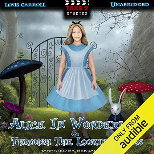 Alice In Wonderland & Through the Looking Glass cover art