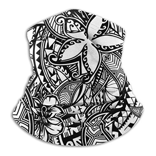 Shichangwei Multifunktionstuch | Bandana | Halstuch | Hawaiian Polynesian Trbal Tatoo Magic Atmungsaktives Gesichtsbandana, Multifunktionsmaske, Gesichtsabdeckung, Schal, Kopftuch, Sturmhaube