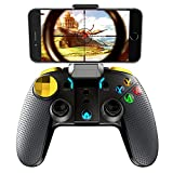 Mobile Game Controller, DoinMaster Wireless Bluetooth Gamepad Joystick Multimedia Game Controller for PUBG Compatible iOS Android Mobile Phone PC Android TV Box