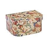 Aiglen Exquisita caja de joyería musical giratoria bailarina niñas contenedor de almacenamiento retro elegante regalo
