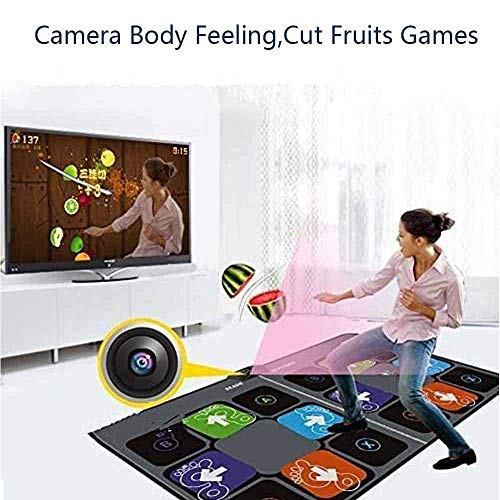 Wireless Dance Blankets, Running Yoga Game Blanket, Double Dance Mat Pad for TV USB Computer Step, Game Machine Dual HD Thickening Dancing Machine Fitness Equipment Dance mat For your health, you are