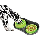 Because of Paws Non-Skid Pet Bowl Tray - with...