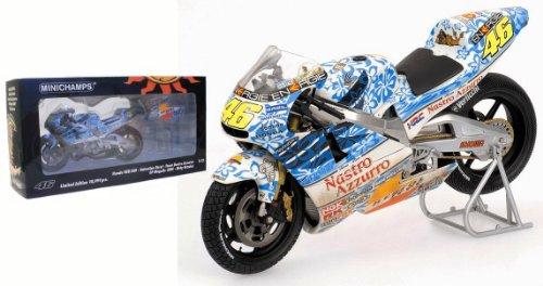 Minichamps 122016186 Honda Nsr V. Rossi W.C. 2001 Gp Mugello 1/12 Valentino Rossi Collection