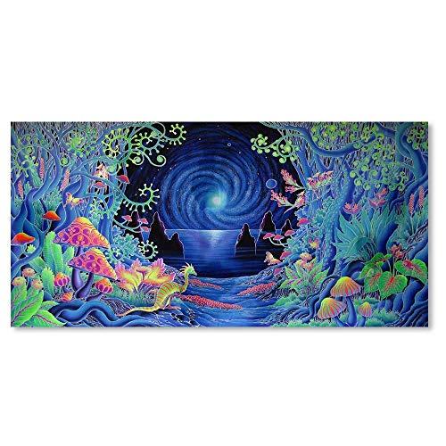 Psychedelic Tree Poster Wandmalerei Leinwand Kunstdruck Bild Room Home Decor Nützlich und PraktischCarry Stone