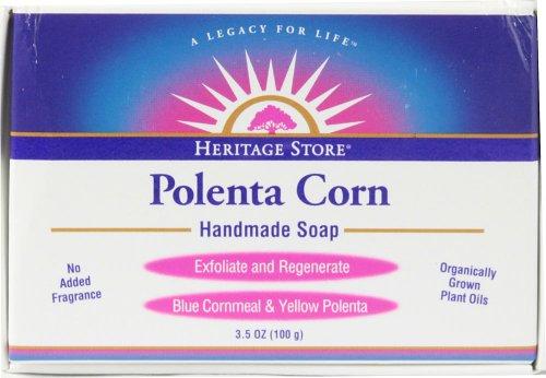 Polenta Corn Soap Heritage Store 3.5 oz Bar by Heritage Store
