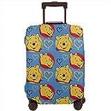 Winnie The Pooh Love - Funda para Maleta de Viaje (Lavable, 45,7 a 81,2 cm)