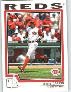 barry larkin baseball card prices